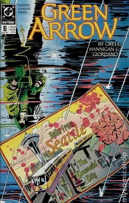 Green Arrow (1st Series) #16 1989 VF Stock Image