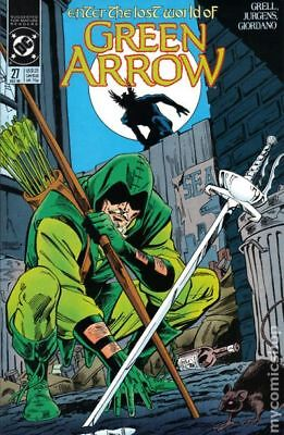 Green Arrow (1st Series) #27 1989 VF Stock Image