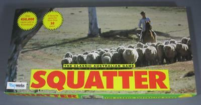 Playworks classic SQUATTER Australian board game