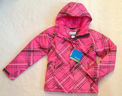d1cbf1385 NEW COLUMBIA GIRLS Winter Jacket Parka OMNI-SHIELD Waterproof Pink ...