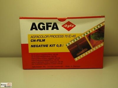 Agfa Agfacolor Proceso 70 (C-41) CN-Film Neagtive Kit 0,5 L ( in )