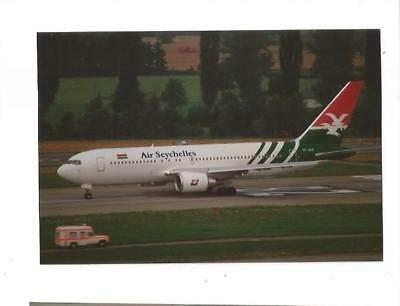 Photo Avion Boeing 767 Air Seychelles  S7-Aas  1989  12X8Cm