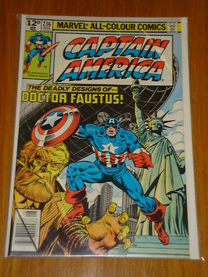 Captain America #236 Marvel Comic Near Mint Condition August 1979