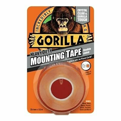 Heavy-Duty Double Sided Mounting Tape 25.4mm x 1.52m by Gorilla Glue - 3044101