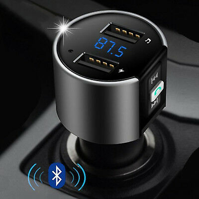 Bluetooth FM Transmitter MP3 Player KFZ Auto SD AUX Freisprechanlage USB Stick