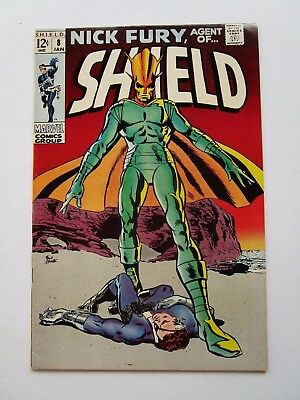 '69 Nick Fury Agent Of Shield # 8 In Very Fine Condition