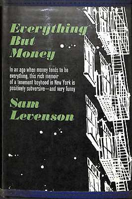 Everything But Money, Levenson, Sam, Good Condition Book, ISBN