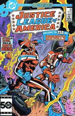 Justice League of America (1st Series) #244 1985 FN Stock Image