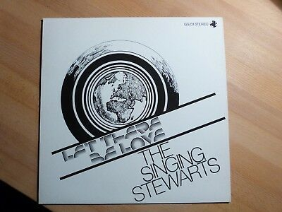 "12"" LP - The singing Stewarts - Let there be Love - Globe Gospel (11 songs) 1985"