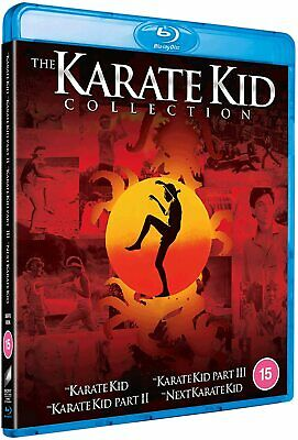 The Karate Kid Collection 1-4 Four Movie Set Blu-Ray Import BRAND NEW 1 2 3 4