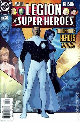 Legion of Super-Heroes (5th Series) #2 2005 NM Stock Image