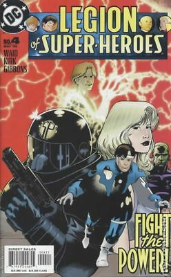 Legion of Super-Heroes (5th Series) #4 2005 VF Stock Image