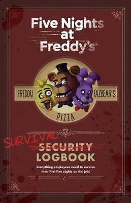 NEW Five Nights at Freddy's Survival Logbook By Scott Cawthon Paperback