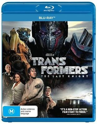The Transformers - Last Knight (Blu-ray, 2017, Disc Set)