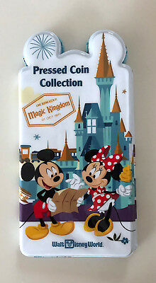 Walt Disney World Four Parks Pressed Penny Book Coin Holder Collection Album NEW