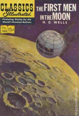 Classics Illustrated 144 The First Men in the Moon #1 1958 GD/VG 3.0 Low Grade