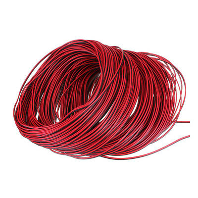 For 3528 5050 Single Color LED Strip Extension Red Black Wire Cable 2Pin Cord