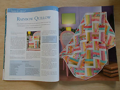 Patchwork & Stitching Vol 14 #4~Quilts~Turtle~Tablecloth~Bags~Runner~Sun Cushion