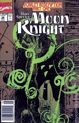 Marc Spector Moon Knight #26 1991 FN Stock Image