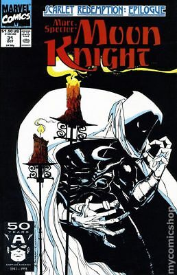 Marc Spector Moon Knight #31 1991 FN Stock Image