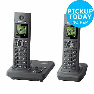 Panasonic KX-TG7922E Cordless Telephone/Answer M/c - Twin - Argos eBay