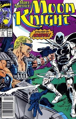 Marc Spector Moon Knight #11 1990 FN Stock Image