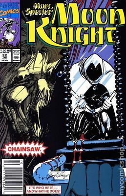 Marc Spector Moon Knight #22 1991 FN Stock Image