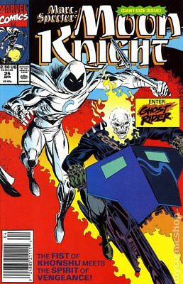 Marc Spector Moon Knight #25 1991 FN Stock Image