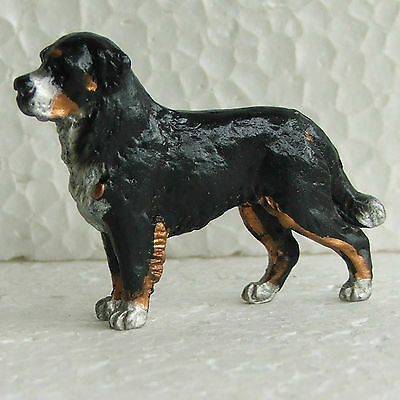Bernese Mountain Dog Mini Model Ornament Handpainted handcrafted Sculpture