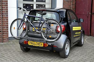 Rear Bicycle Rack Carrier Smart Fortwo Coupe 453 Paulchen First Class