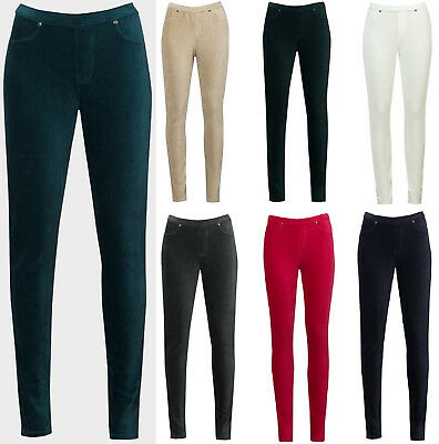 Style & Co Stretch Cord Leggings Trousers Corduroy Pants jeans Ladies Womans