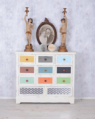 Dresser Shabby Chic Drawer Cabinet Vintage Apothecary Cabinet Vintage