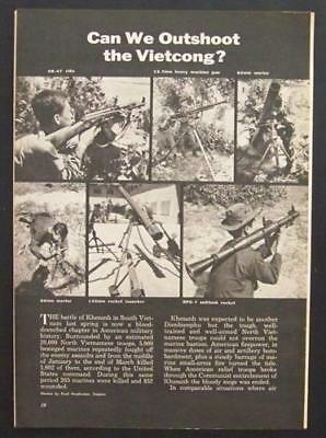 Vietcong Weapons 1969 Small Arms pictorial Vietnam
