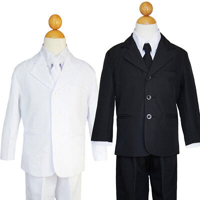 BOYS RING BEARER, RECITAL,GRADUATION FORMAL SUIT SET, SIZE: 2T to 7