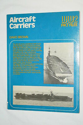 WW2 US German Japanese British Aircraft Carriers Reference Book