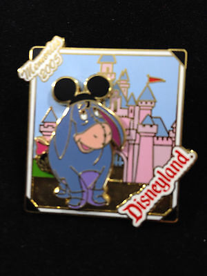 Disney DLR - Memories 2005 Collection Eeyore at Sleeping Beauty Castle Pin