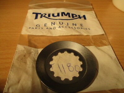 triumph speedmaster thruxton sprint gearbox sprocket locking washer,t1180181 NEW