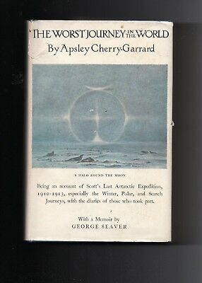 THE WORST Journey In The World Apsley Cherry Garrard 1965 New