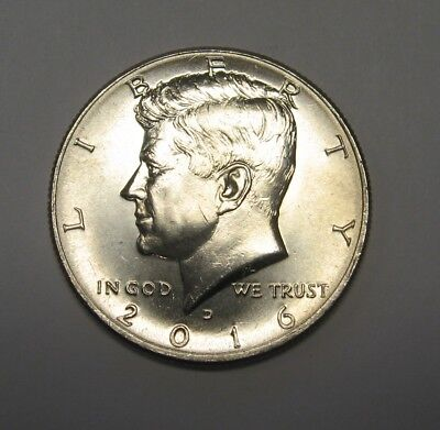 2016-D John F Kennedy Clad Half Dollar Choice BU Condition  DUTCH