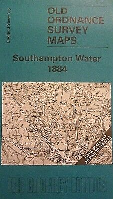 Old Ordnance Survey Map Southampton Water 1884 & Plan Village  Salisbury Sh 315