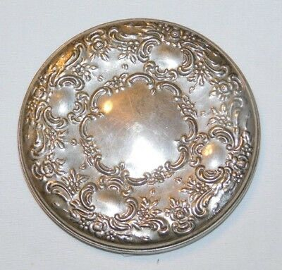 Beautiful old Towle Sterling Silver Ladies Pocket Mirror