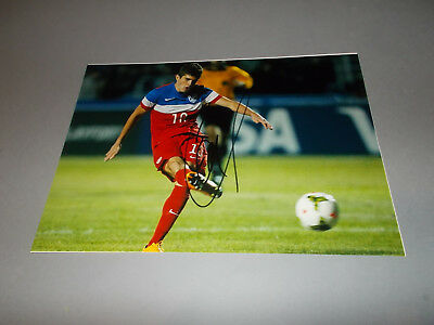 Christian Pulisic  BVB  USA  signiert signed Autogramm auf 20x28 Foto in person