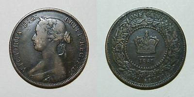 Canada / Nova Scotia : Large Cent 1861