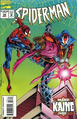 Spider-Man #58 1995 FN Stock Image