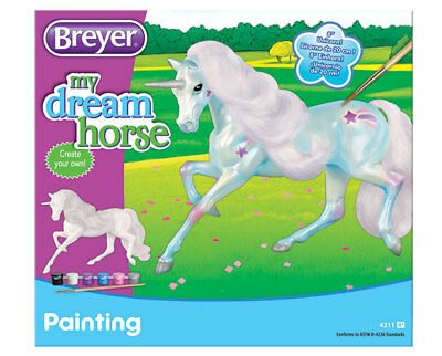 Horse Crazy Paint Your Own  Unicorn Item#: 4211 | Age: 4+ | Scale:1:12 <><