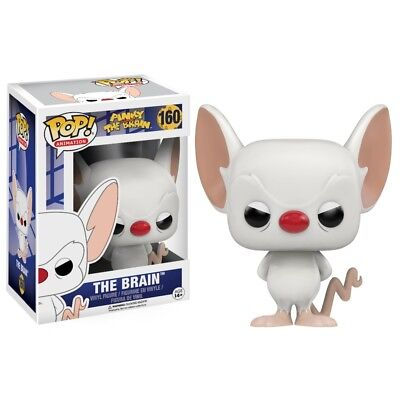 POP Vinyl Pinky and The Brain The Brain Figure,  Kids TV by Funko