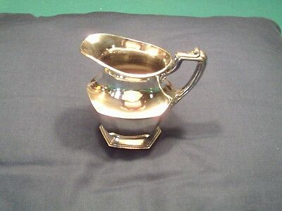 Vintage Rogers Bros Silverplate Silver Plated Pitcher Made In America 4618