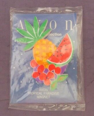 Vintage Avon The Gift Collection Tropical Paradise Magnet - NOS