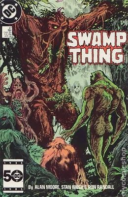Swamp Thing (2nd Series) #47 1986 FN Stock Image