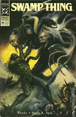 Swamp Thing (2nd Series) #98 1990 FN Stock Image